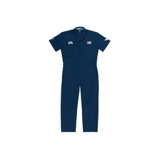 Nike SB x Parra USA Federation Kit Skate Coveralls Brave Blue/White