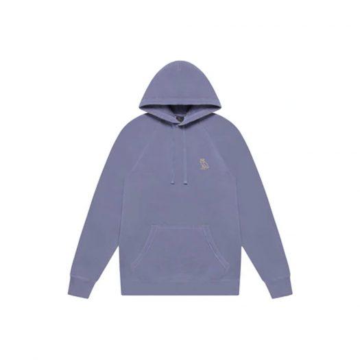 OVO Garment Dye Hoodie Lilac