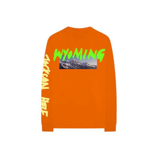 Kanye West Wyoming L/S Tee Orange