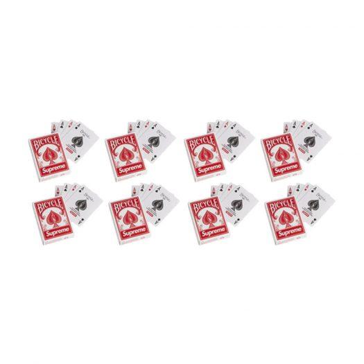 Supreme x Bicycle Mini Playing Card Deck 8x Lot FW21 Season Gift