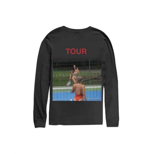Kanye West Saint Pablo Kim Tennis Longsleeve T-Shirt Black