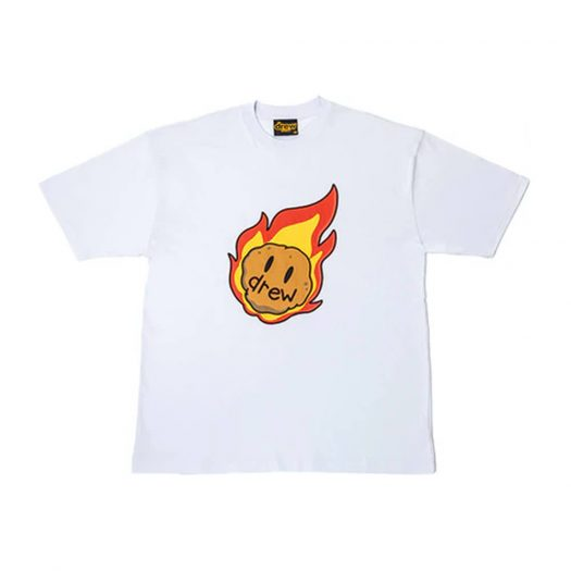 drew house astroid ss tee baby blue