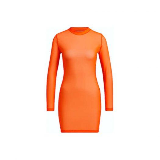 adidas Ivy Park Swim Cover-Up Dress Solar Orange