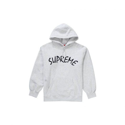Supreme FTP Arc Hooded Sweatshirt Ash Grey