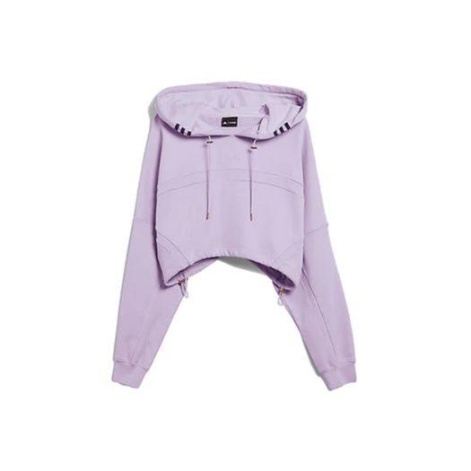 adidas Ivy Park Hooded Shrug Purple Glow