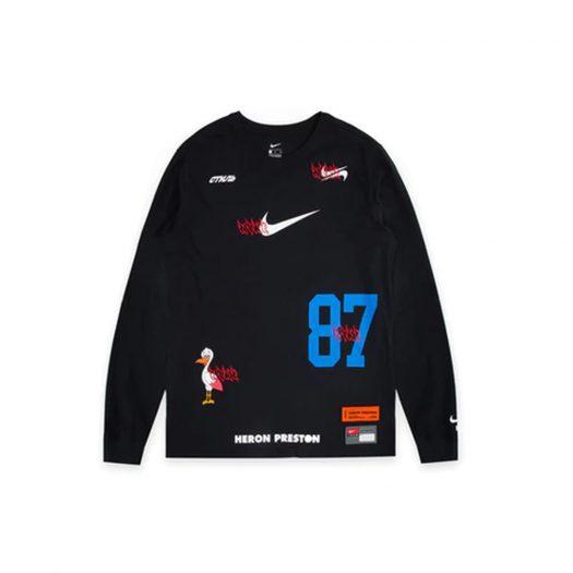 Nike x Heron Preston L/S Tee Black