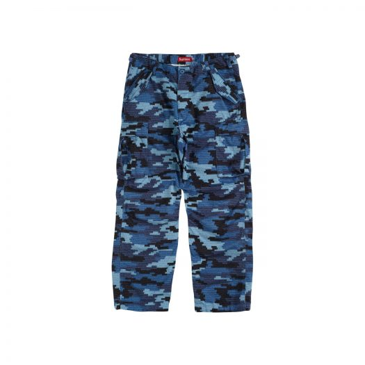 Supreme Cargo Pant Blue Camo