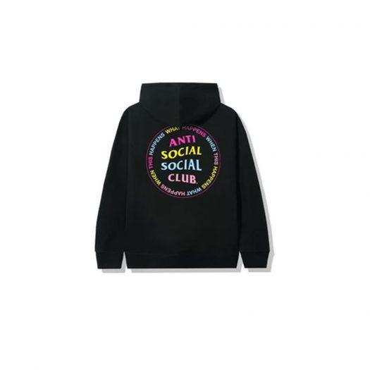 Anti Social Social Club What Happened Hoodie Black