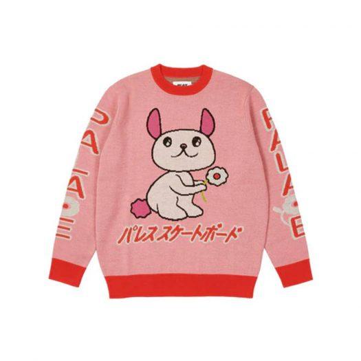Palace Cosy Knit Pink