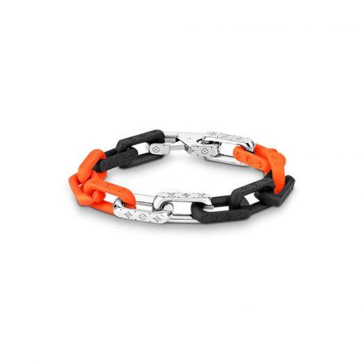 Louis Vuitton Monogram Chain Bracelet Silver