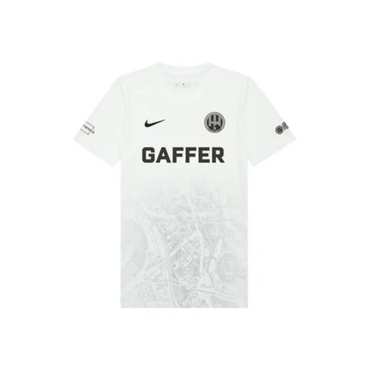 DropX ™ Exclusive: GAFFER x Hackney Wick FC Limited Edition 21/22 Jersey White