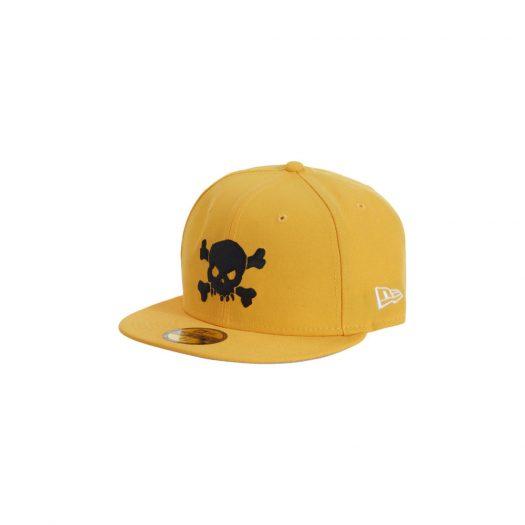 Supreme Skull New Era Yellow