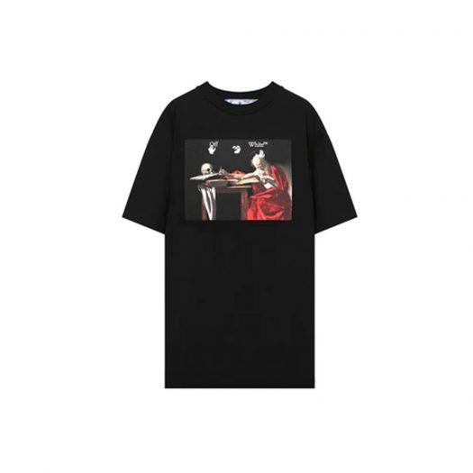 Off-White Caravaggio Jersey T-shirt Black