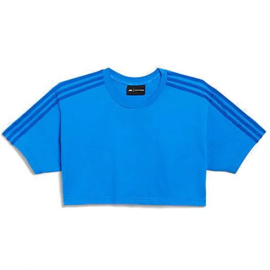 adidas Ivy Park Crop Tee Glory Blue