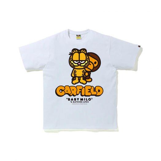 BAPE x Garfield #3 Tee White