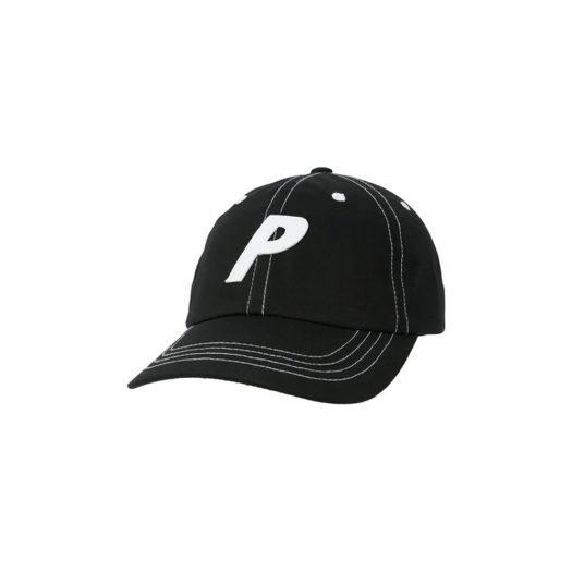 Palace Poplin P 6-Panel Black