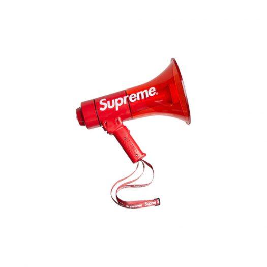 Supreme Pyle Waterproof Megaphone Red