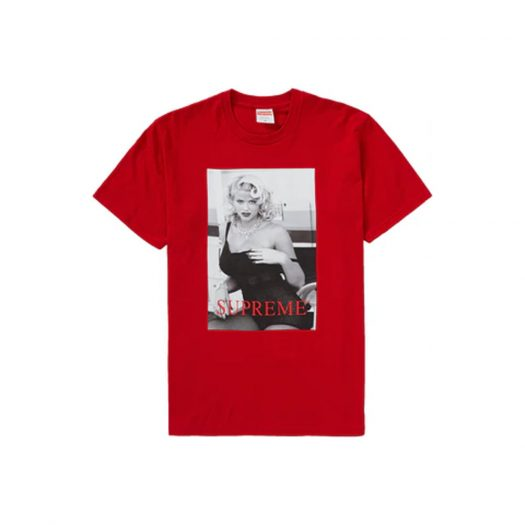 Supreme Anna Nicole Smith Tee Red