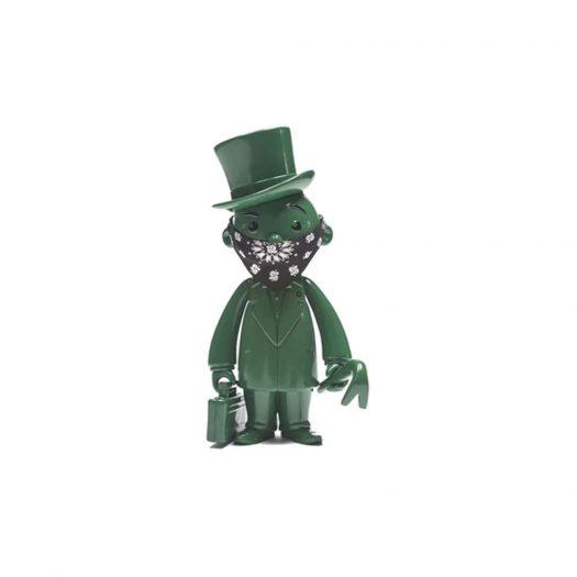 Monopoly x Switch x Bait Mr. Pennybags Vinyl Figure Olive