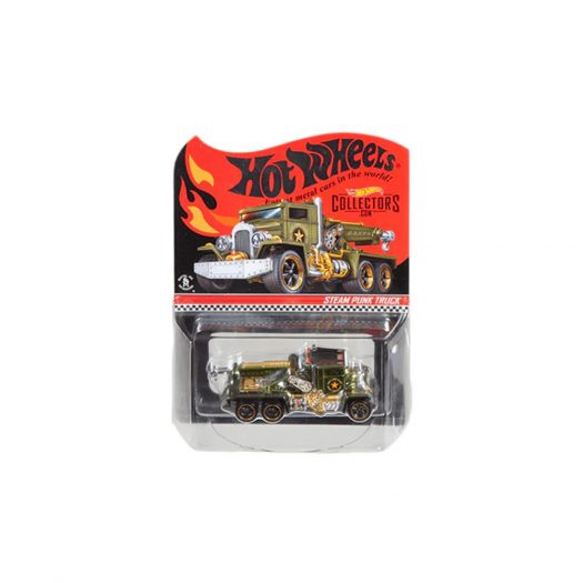 Hot Wheels RLC Steam Punk Truck Spectraflame Olive