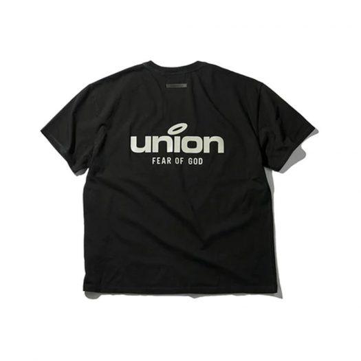 Fear of God x Union 30 Year Vintage Tee Black