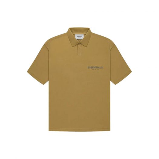 Fear of God Essentials S/S Polo Amber