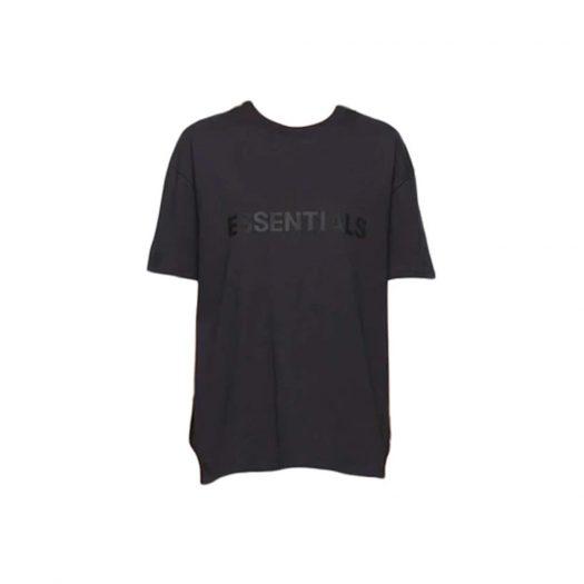 Fear of God Essentials x SSENSE Boxy T-Shirt Applique Logo Dark Navy