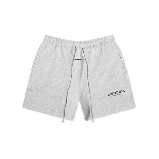 Fear of God Essentials Sweat Shorts Light Heather Grey/Black