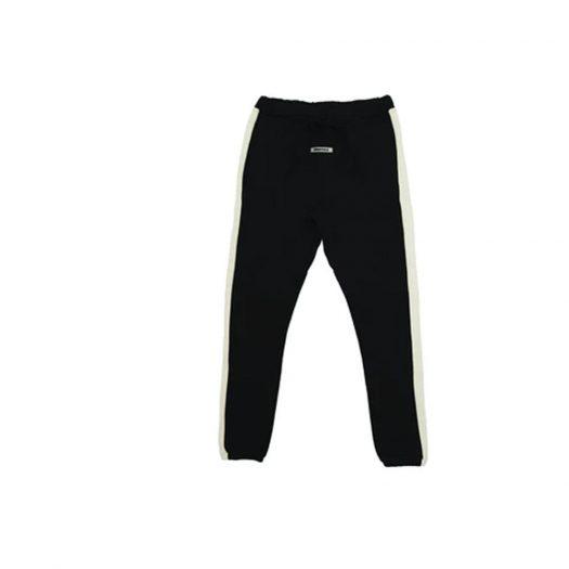 Fear of God Essentials Side Stripe Sweatpants (FW19) Black