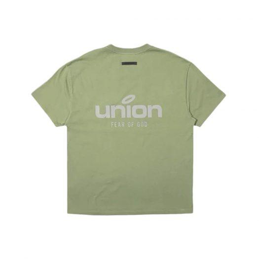 Fear of God x Union 30 Year Vintage Tee Army