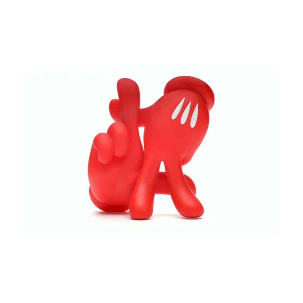 Slick OG LA Hands Vinyl Figure Red