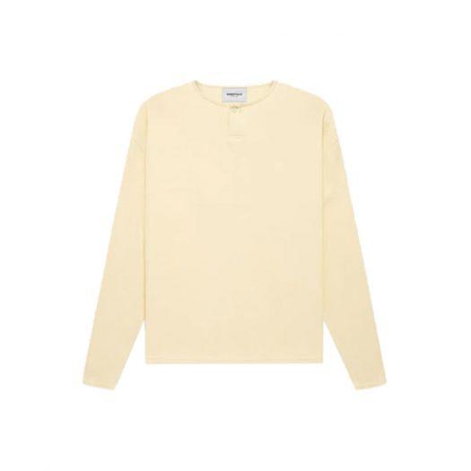 Fear of God Essentials Thermal L/S Henley Buttercream