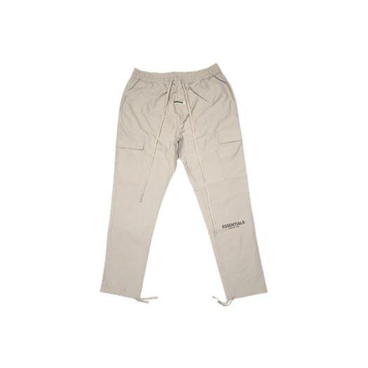 Fear of God Essentials Nylon Cargo Pants Tan