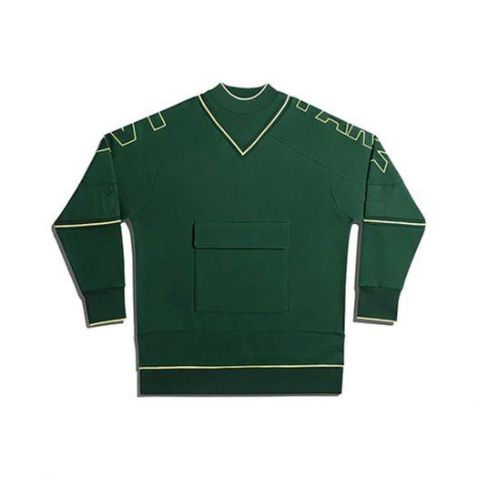 adidas Ivy Park Cargo Sweatshirt (Gender Neutral) Dark Green