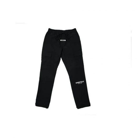 Fear of God Essentials Nylon Cargo Pants Black