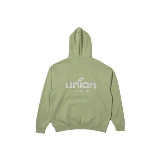 Fear of God x Union 30 Year Vintage Hoodie Army