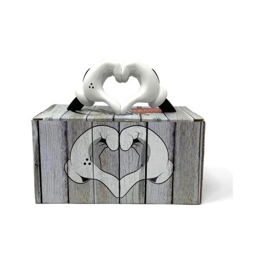 Slick Love Gloves OG Edition Sculpture White/Black