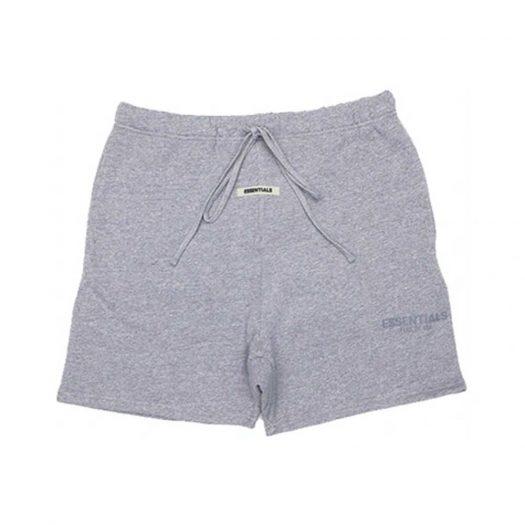 Fear of God Essentials Sweat Shorts Dark Heather Grey/Grey