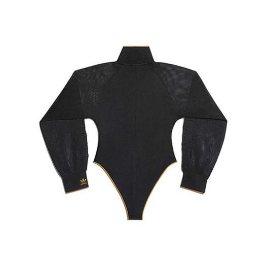 adidas Ivy Park Mesh Sleeve Bodysuit Black/Mesa