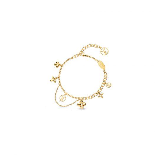 Louis Vuitton Blooming Supple Bracelet Brass