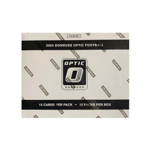 2020 Panini Donruss Optic Football Factory Sealed Fat Pack Box 12 packs