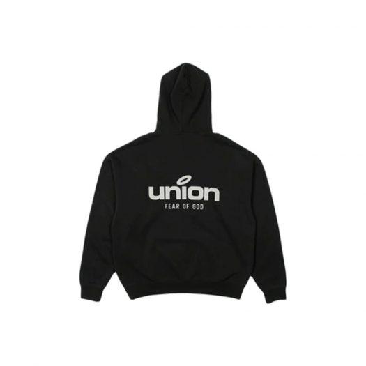 Fear of God x Union 30 Year Vintage Hoodie Black