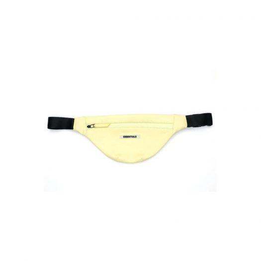 Fear of God Essentials Lemonade Waterproof Sling Bag Yellow