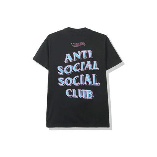 Anti Social Social Club x Hot Wheels Tee (FW19) Black