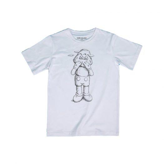 KAWS HOLIDAY JAPAN Sketch T-shirt White