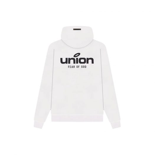 Fear of God x Union 30 Year Vintage Hoodie White
