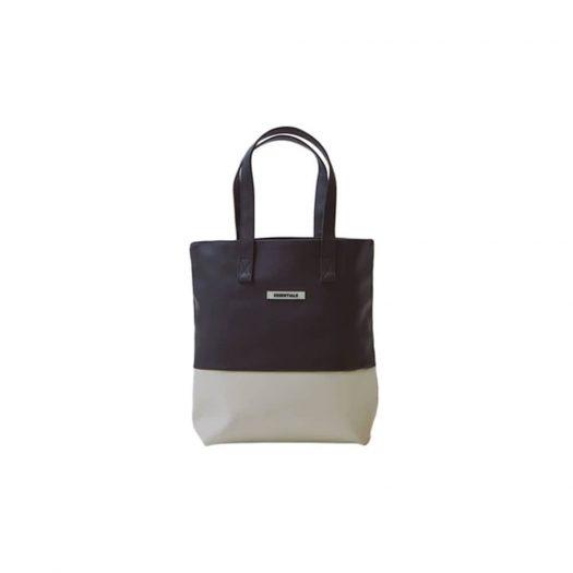 Fear of God Essentials Waterproof Tote Bag Black/White