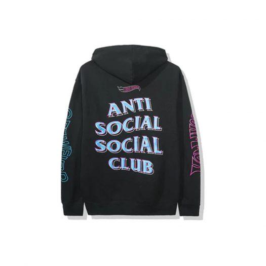 Anti Social Social Club x Hot Wheels Hoodie (FW19) Black