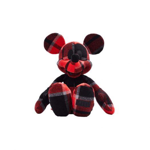 Kith x Disney Large Mickey Plush Plaid