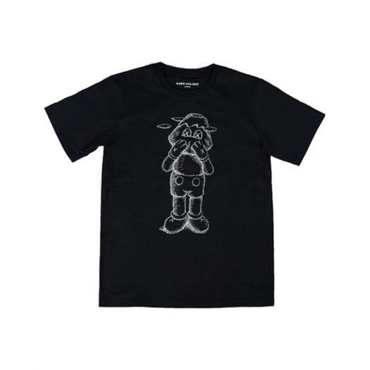 KAWS HOLIDAY JAPAN Sketch T-shirt Black